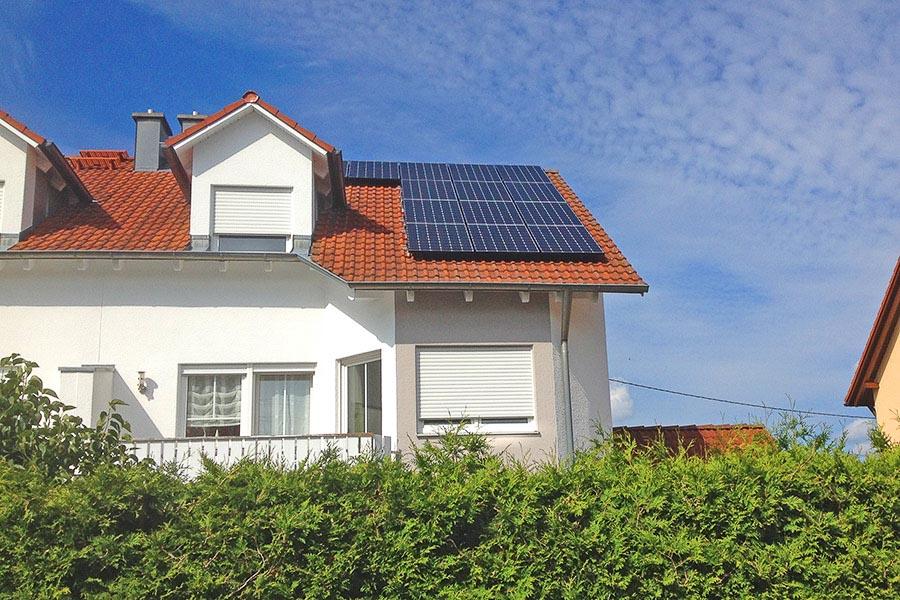 Sommer, Sonne… Strom! Referenz-Objekt: Photovoltaik Anlage in Bobingen