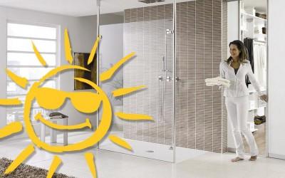 Badeurlaub! Sie verreisen, wir renovieren Ihr Bad!