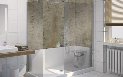 Badsanierung schnell & einfach mit der fugenlose Dusche