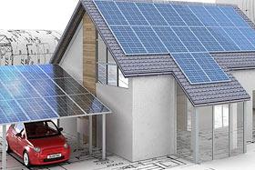 Solaranlage / Photovoltaik Anlagenbau