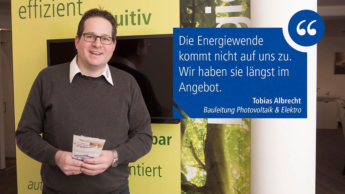 Energiewende mit uns! Photovoltaik und Solarstrom vom Profi