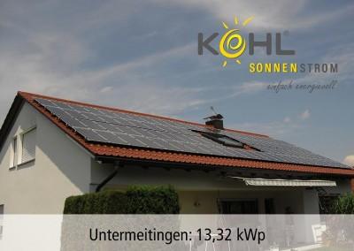 Photovoltaik in Untermeitingen