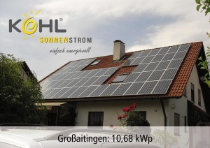Photovoltaik in Großaitingen