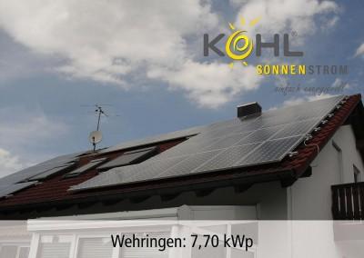 Photovoltaik in Wehringen