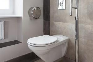 Gäste WC in Betonoptik
