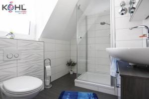 Kundenbad mit Dusche