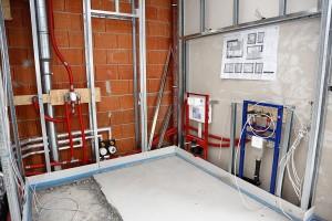 Sanitärtechnik für Gewerbe und Bauträger