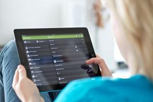Smart Home - Steuerung mit Smartphone und Tablet