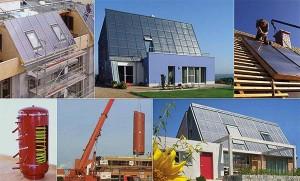 Komponenten & Bau Sonnenhaus