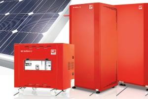 Stromspeicher für Sonnenstrom aus Photovoltaik