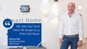 Fachberatung für SmartHome mit Hausautomation durch unseren Elektromeister