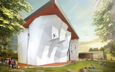DAV in Augsburg baut neue Kletterhalle mit umweltfreundlicher Wärmepumpe