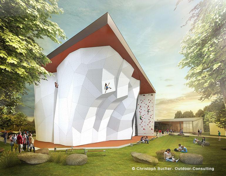 dav in augsburg baut neue kletterhalle mit. Black Bedroom Furniture Sets. Home Design Ideas