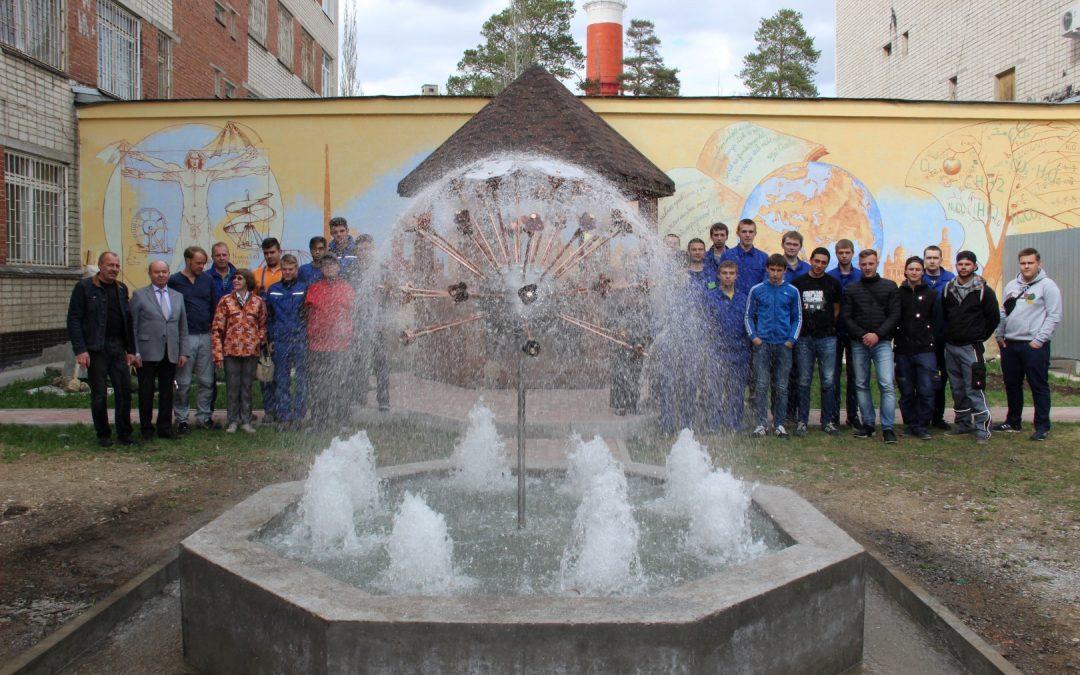 SHK Azubi von Kohl Wasser + Wärme baut Brunnen in Russland