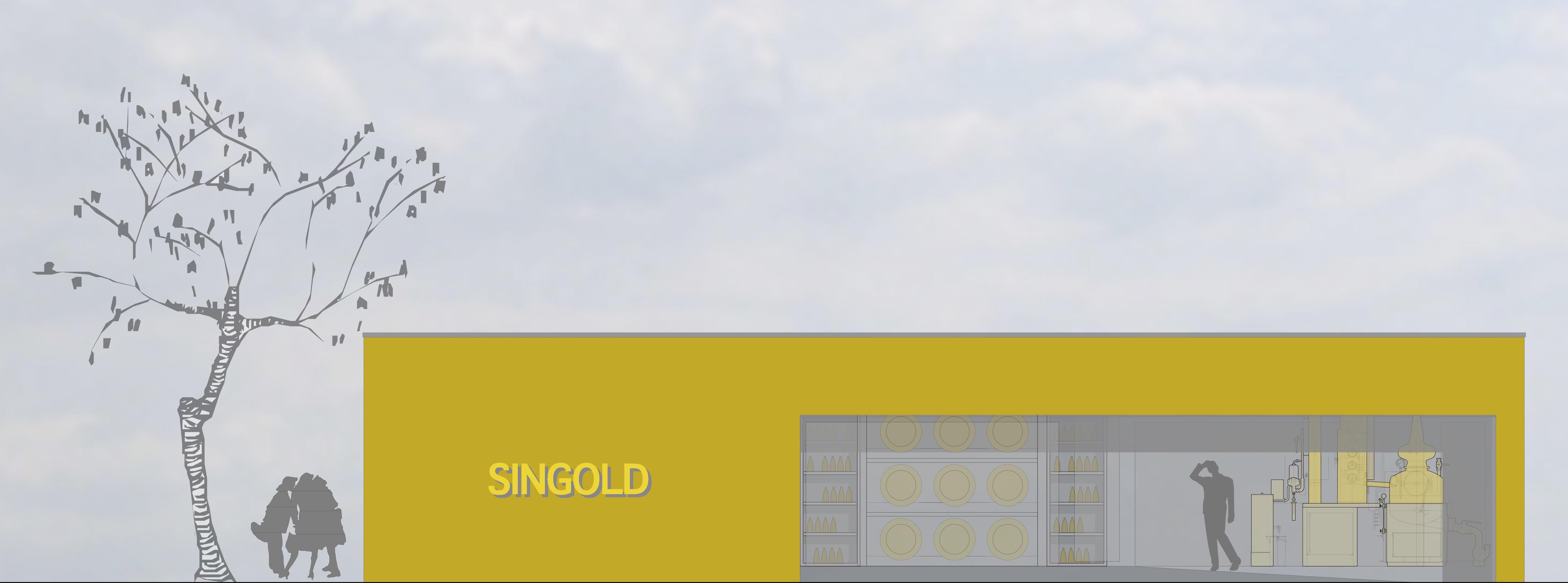 Hochprozentige Arbeit: Heizung, Lüftung und Sanitär für Gewerbebau von Sin-Gold Brand
