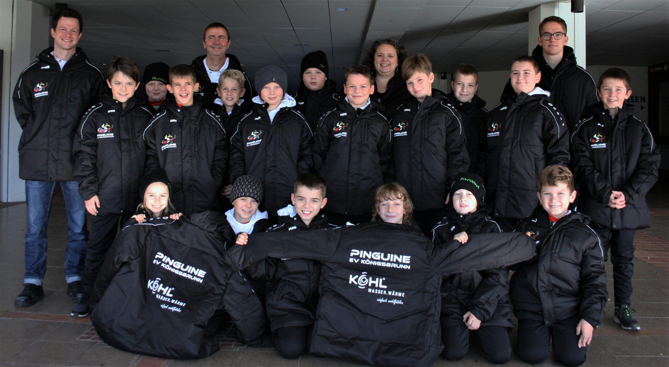 sponsoring pinguine EV Königsbrunn